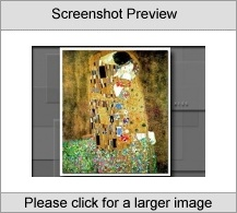 Art of Gustav Klimt Software tool